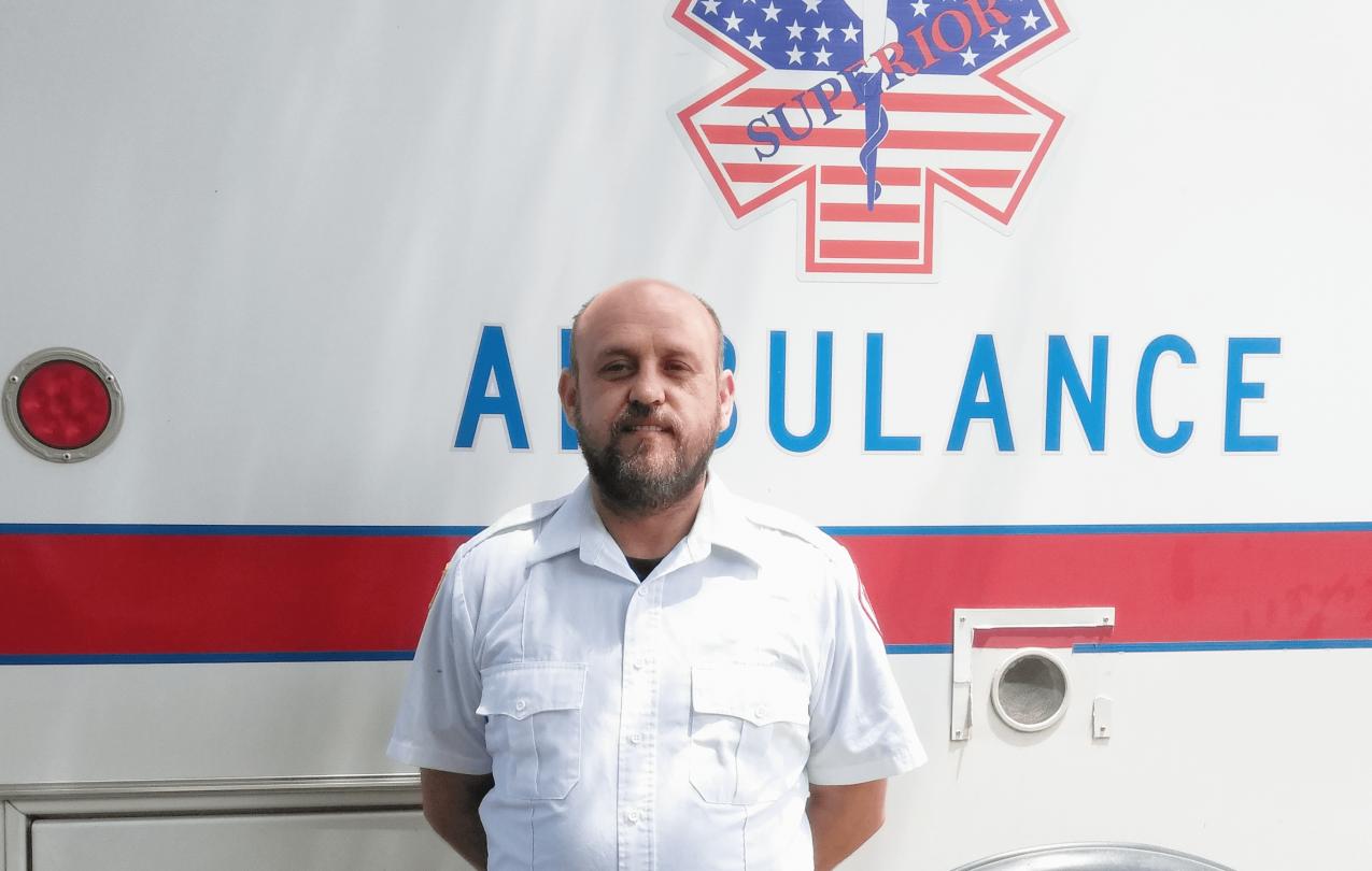 James Certain, Superior Ambulance