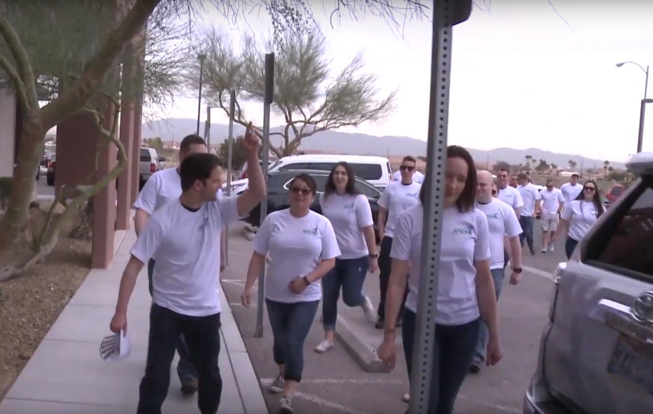 AMR workers in Las Vegas
