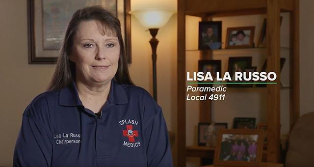 AFSCME member Lisa La Russo
